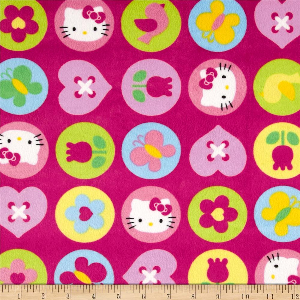 minky hello kitty (high stock)